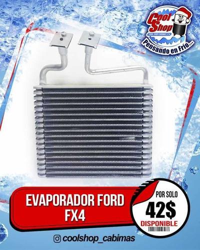 Evaporador Ford Fx4 2007-2008 3 Meses De Garantia