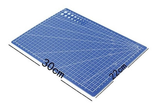Tabla De Corte A4 30x20 Cms Color Azul M122