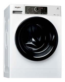 Lavarropas Whirlpool Wlcf85b 8.5 Kg Carga Frontal Blanco