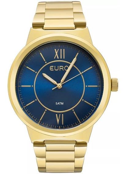 Relógio Euro Feminino Metal Trendy Eu2036yea/4a - Dourado