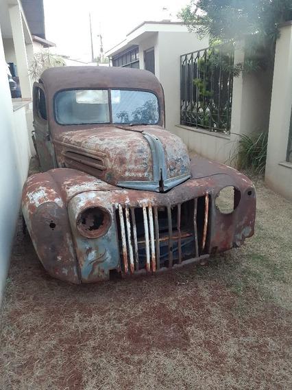 Ford 1946 Caveirinha (f1 Boca De Sapo Gmc F100 Marta Rocha)