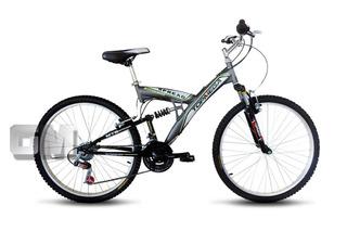 Bicicleta Mtb. R26 Top Mega Spread Doble Suspension 21vel