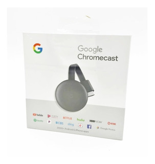 Google Chromecast 3 Smart Tv Hdmi Wifi