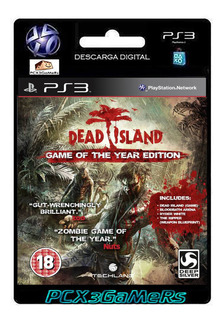 Ps3 Dead Island Game Of The Year Edition Bundle...