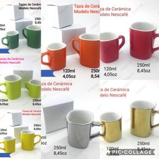 Tazas De Ceramica Cafe Chocolate 250ml (1 Una)