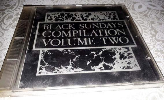Black Sundays - Cd Coletânea Gótico - Nacional - Raríssimo
