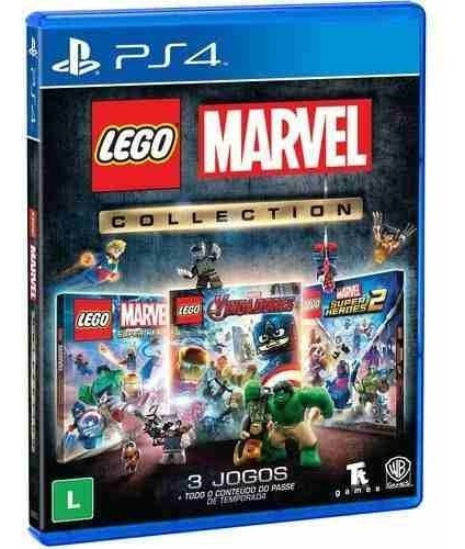 Lego Marvel Collection Ps4 Mídia Física Lacrado