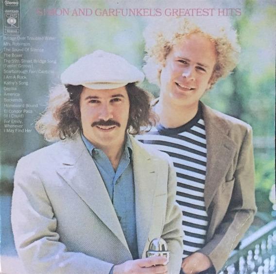 Lp Vinil Simon & Garfunkel Greatest Hits -nac Usado M/m