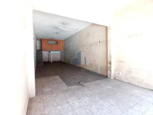 Imagem 1 de 6 de Salão Para Alugar, 80 M² Por R$ 2.300/mês - Jardim Zaira - Mauá/sp - Sl0134