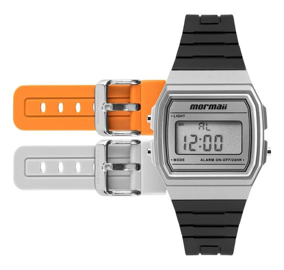 Relógio Mormaii Troca Pulseira Vintage Freestyle Mojh02ag/8k