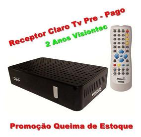 Receptor Claro Livre 2 Anos Tv Pre -pago