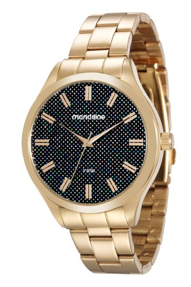 Relógio Mondaine Feminino Dourado 34877