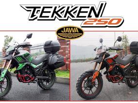 Moto Jawa Tekken 250 Touring 0km 2017 Equipada 12/10