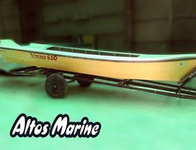 Canoa Yacare 620 De Astilleros Altos Marine Stock Oferta !!