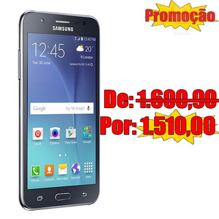 Smartphone Galaxy J7 4g Duos Preto