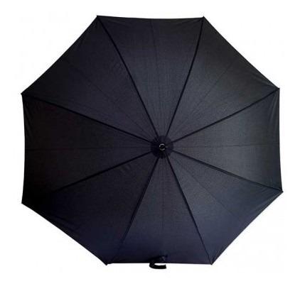 Sombrilla/paraguas Free Home Automático Negra Sombri Tk193