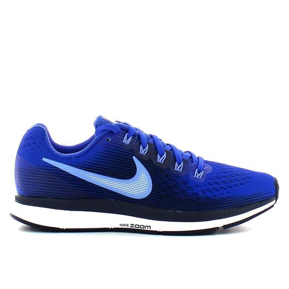 Zapatillas Nike Pegasus 34 Hombre Azul Running C/ Envio