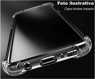 Capa LG K10 Power Bordas Antishock + Película Vidro