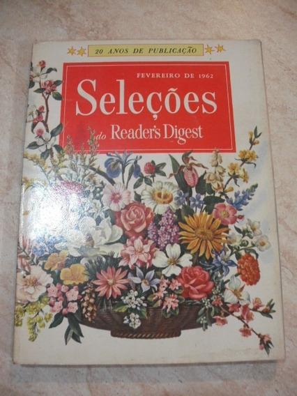 Livro Seleções Antigo Fevereiro 1962 Readers Digest
