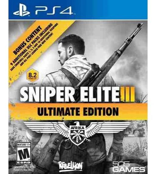 Sniper Elite 3 Ultimate Ps4 Digital 1