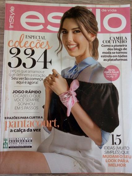 Revista Estilo 155 - Camila Coutinho - Channing Tatum