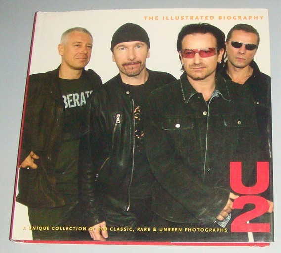 Livro U2 The Illustrated Biography ( Inglês )