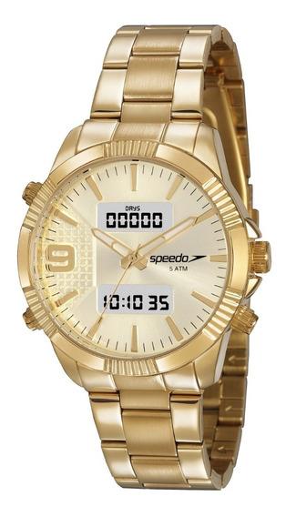 Relógio Speedo Feminino 15014lpevde1 Digital Ana Digi