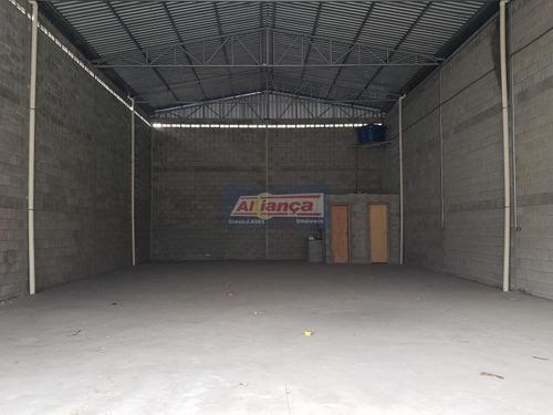Galpão Para Alugar, 200 M² - Jardim Presidente Dutra - Guarulhos/sp - Ai10363