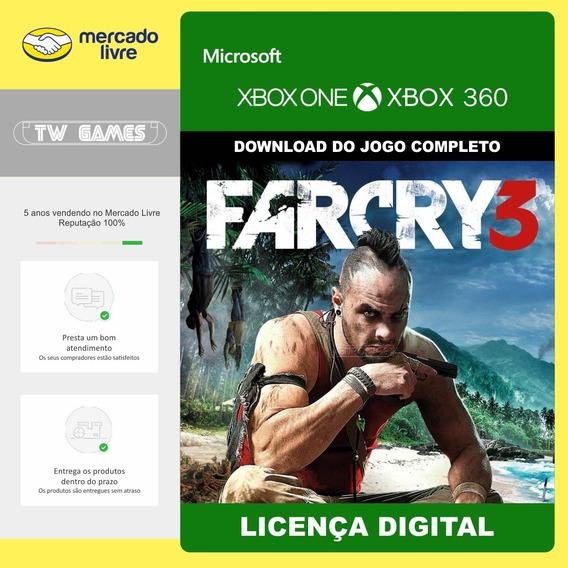 Far Cry 3 Digital Retrocompativel Xbox One 360