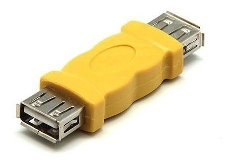 Empalme Union Usb Hembra A Hembra Pendrive Cable Usb Tienda