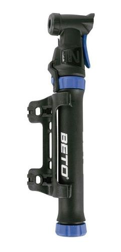 Mini Bomba De Ar Beto Para Bike C/bico De Bola - Dupla Ação