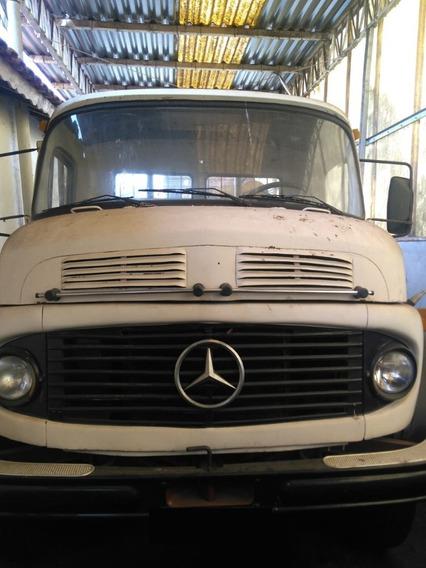 Caminhão Mb 2219 6x4 No Chassi Freio À Ar 1981