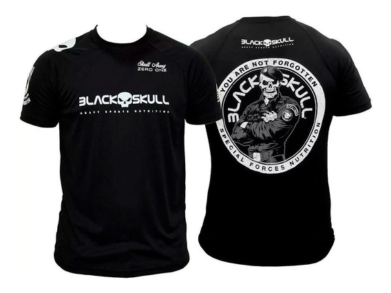 Camisa Dry Fit Soldado Bope Blackskull Original Melhor Preço