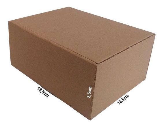 50 Caixas De Papelão 18,5x14,5x8,5 P Correios Mercado Envios
