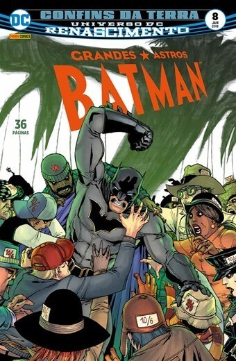 Grandes Astros Batman 8 Lacrado Frete Grátis