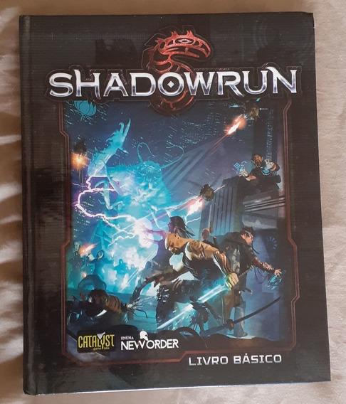 Livro Manual Do Rpg De Mesa Cyberpunk Shadowrun
