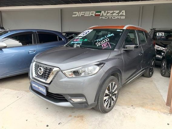 Nissan Kicks Sl 1.6 - 2018 - Top De Linha + Couro