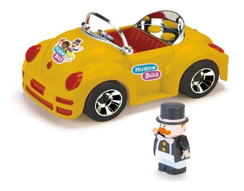 Imagem 1 de 2 de Carrinho Carro Brinquedo Mundo Bita Criança Com Boneco