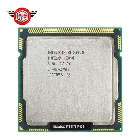 Procesador Intel Xeon X3430 2.40 Ghz 8m Lga 1156 10t