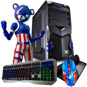 Pc Gamer Barato Geforce + Kit Teclado /mouse /headset + Wifi