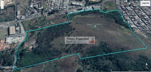 Guarulhos/sp - Terreno Em Zoneamento Industrial 272.080m² - Te0088
