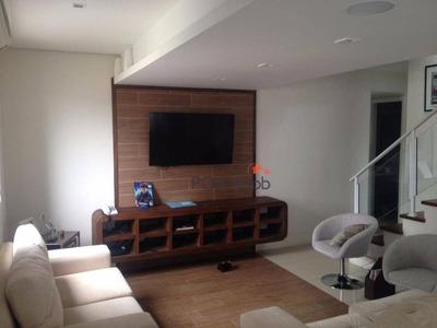 Cobertura Mobiliada Com 03 Dormitórios Sendo 01 Suíte No Bairro Três Figueiras - Co0024