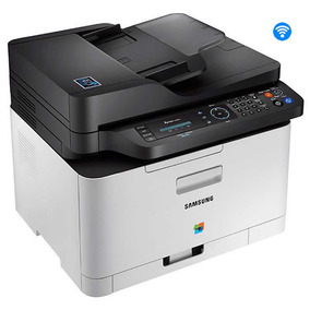 Impressora Multifuncional Laser Color Sl-c480fw Samsung 110v