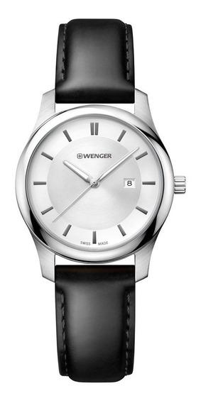 Reloj Wenger City Classic 011421114 Dama Original