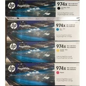 Kit 4 Cartuchos Hp 974 Xl