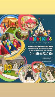 Estrutura Festa Do Pijama 20 Crianças