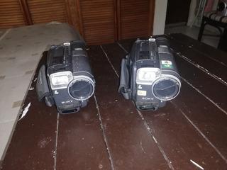 2 Handycam Sony Analogas Para 8mm.