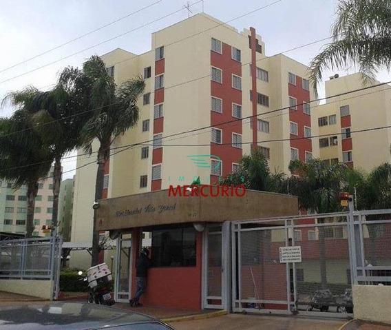 Apartamento Com 3 Dormitórios À Venda, 65 M² Por R$ 210.000 - Jardim Auri Verde - Bauru/sp - Ap3372