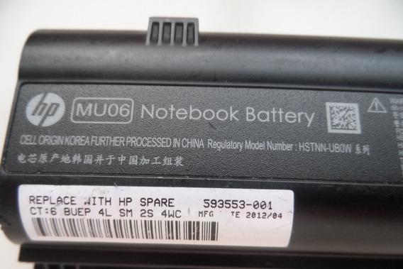 Bateria Notebook Hp Mu06 Cq42 G42 No Estado Ler Descrição