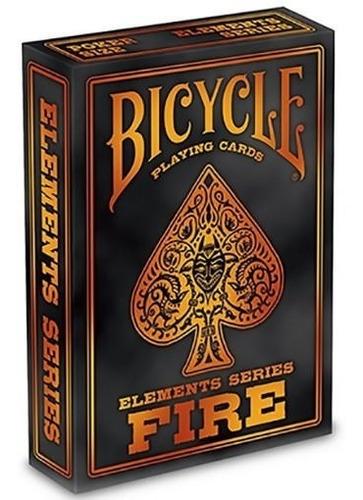 Naipe Cartas Baraja Bicycle Fire